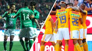 León y Tigres ganaron sus partidos de ida