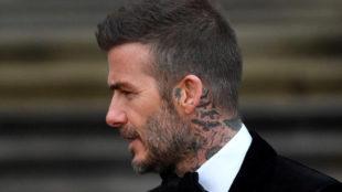 Retiran seis meses el carné a David Beckham
