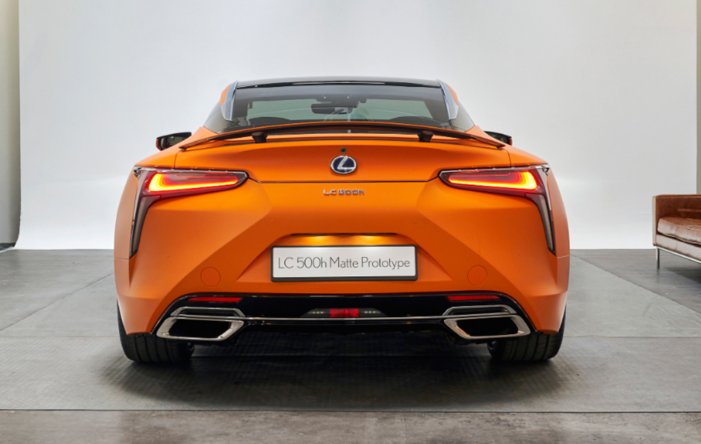 Lexus LC 500h 'matte prototype'