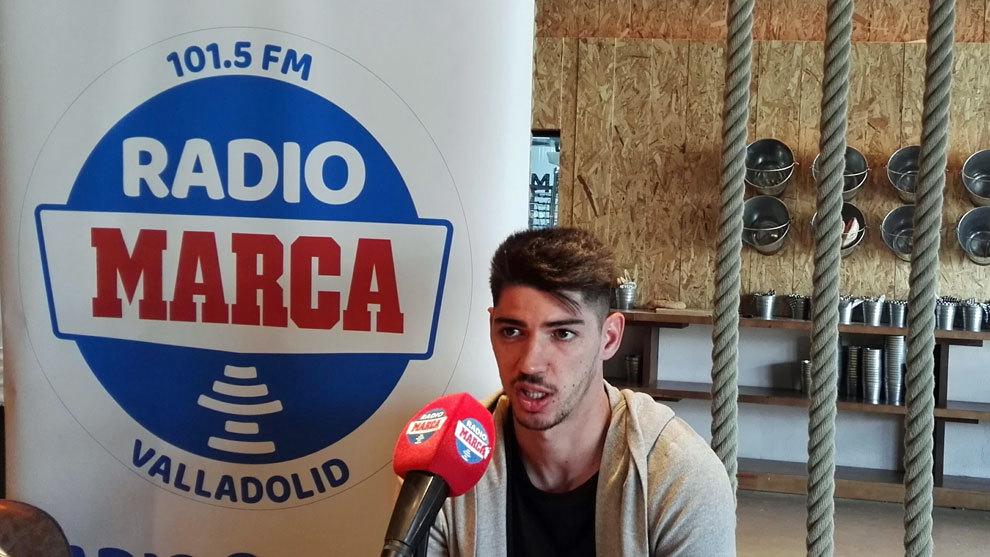 Waldo, durante su entrevista en Radio MARCA