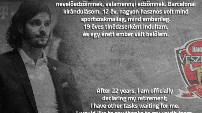 Cartel de despedida de Laszlo Nagy /