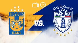 Tigres vs Pachuca, hora y dónde ver