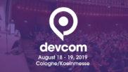Devcom 2019 se celebrará en Colonia el 18 y 19 de agosto