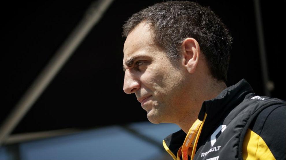 Cyril Abiteboul, con Renault.