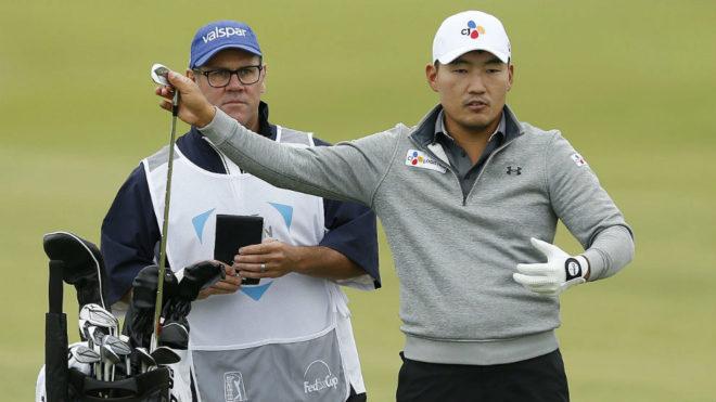 Golf: El Surcoreano Sung Kang Pasa A Dominar El Torneo