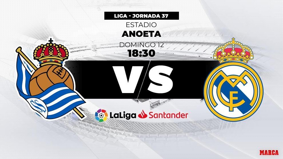 nuevos productos para brillo encantador bonito diseño Liga Santander 2018-19: Real Sociedad - Real Madrid: horario ...