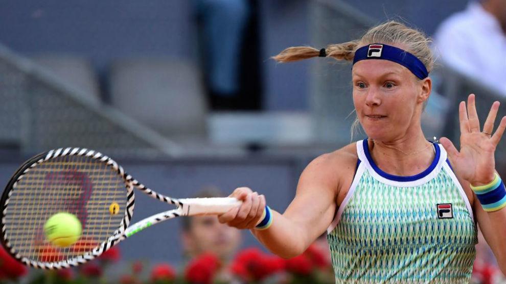 Kiki Bertens se corona campeona del Masters de Madrid
