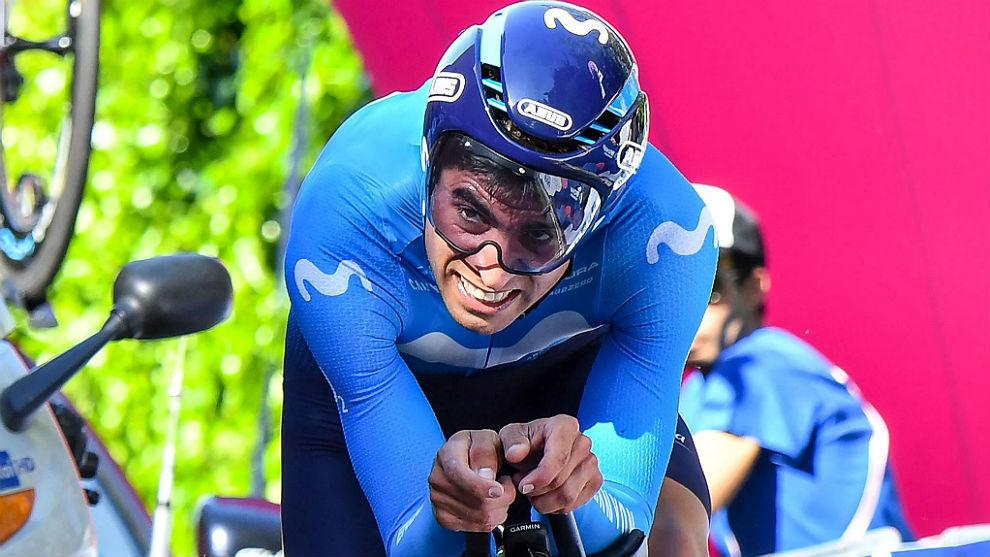 Mikel Landa en la contrarreloj de ocho kilómetros entre Bolonia y San...