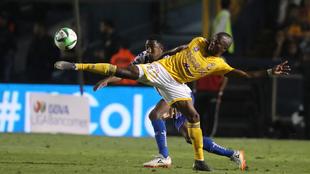 Enner Valencia protagonizó un conato de bronca frente al Pachuca.