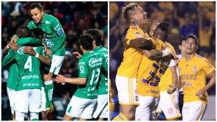 León y Tigres cumplieron con la tarea en los cuartos de final