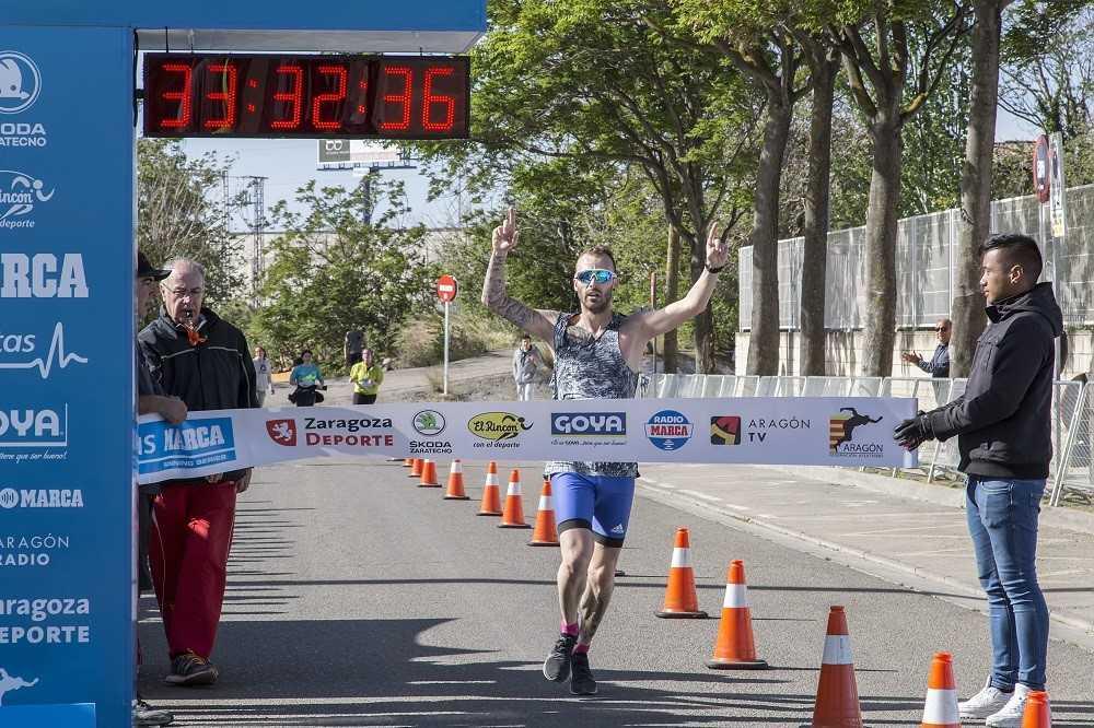 Abel Cervero se impone en los 10 kilómetros.