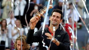 Djokovic, con el Ion Tiriac Trophy