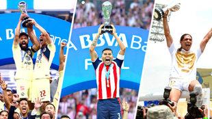 Los equipos grandes han levantado el trofeo de campeón, excepto Cruz...