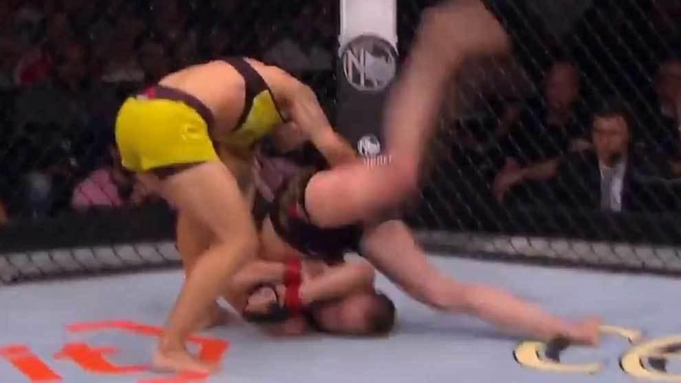 La luchadora brasileña Jessica Andrade se proclamó campeona del...