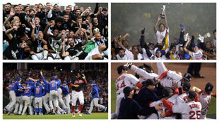 Varios equipos han tenido la paciencia para volver a ser campeones