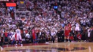 El tiro final de Kawhi Leonard para dar la victoria a los Raptors