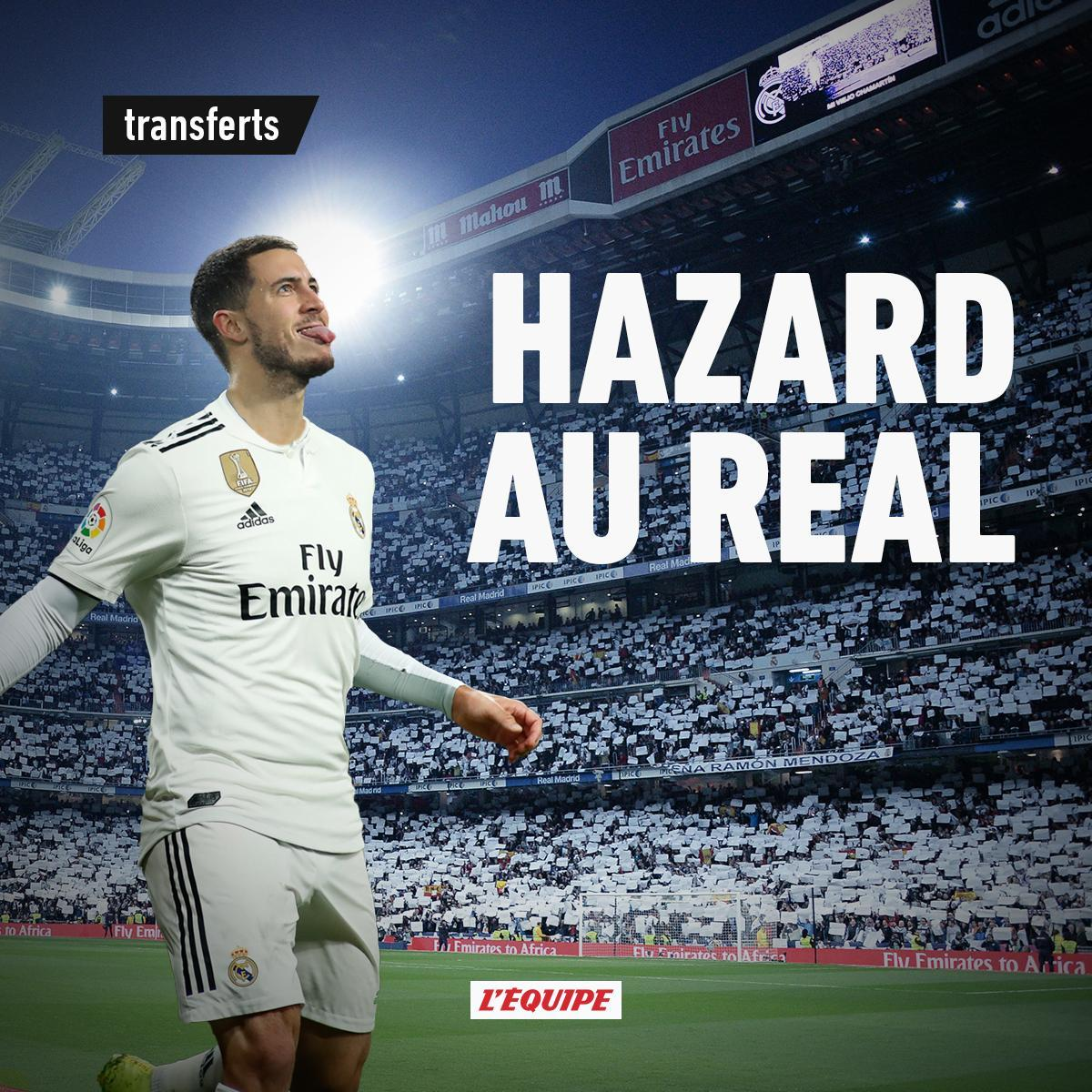Eden Hazard Berseragam Real Madrid