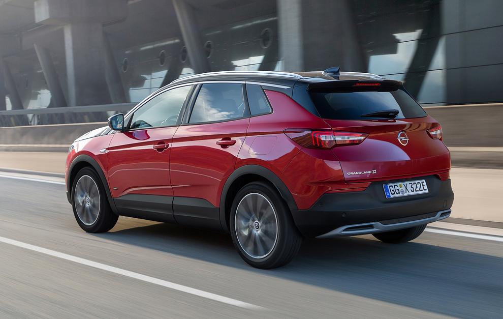 Opel Grandland X Hybrid4: el primer híbrido enchufable