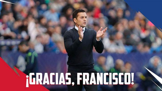Francisco no seguirá en el Huesca la próxima temporada