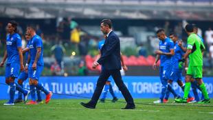 El Cruz Azul cayó eliminado por el América en los cuartos de final.