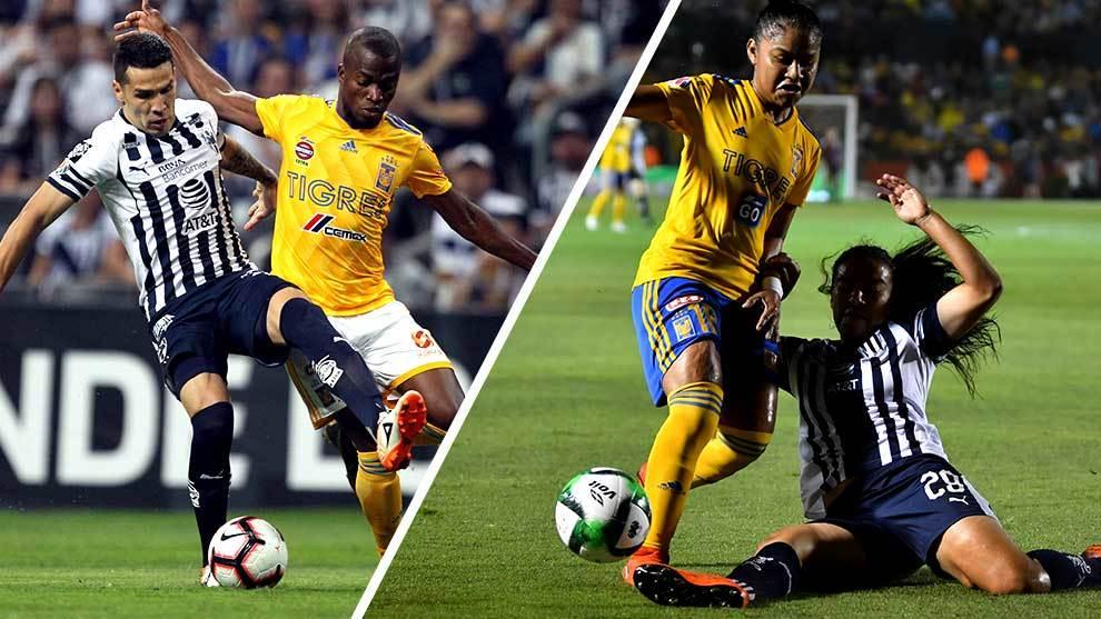 Tigres y Rayados han disputado finales en ambas ramas en el Clausura...