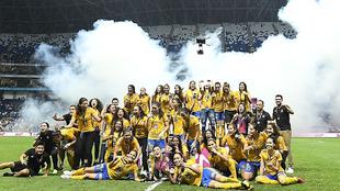 Tigres Femenil conquista su segunda corona.