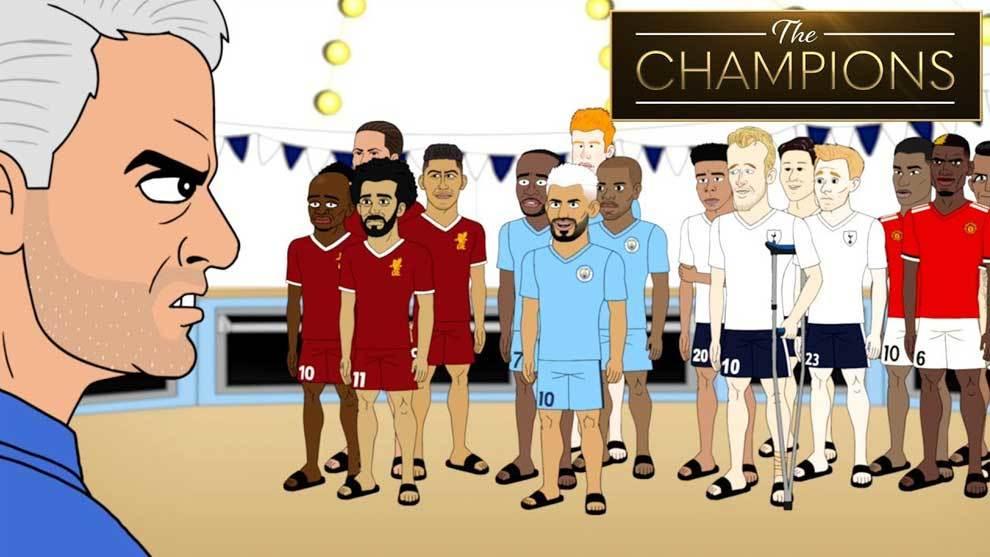 Concurso de repostería con Mourinho entre Liverpool, Tottenham,...