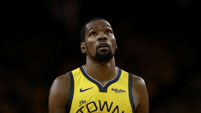 Kevin Durant es seria duda para la serie contra los Trail Blazers
