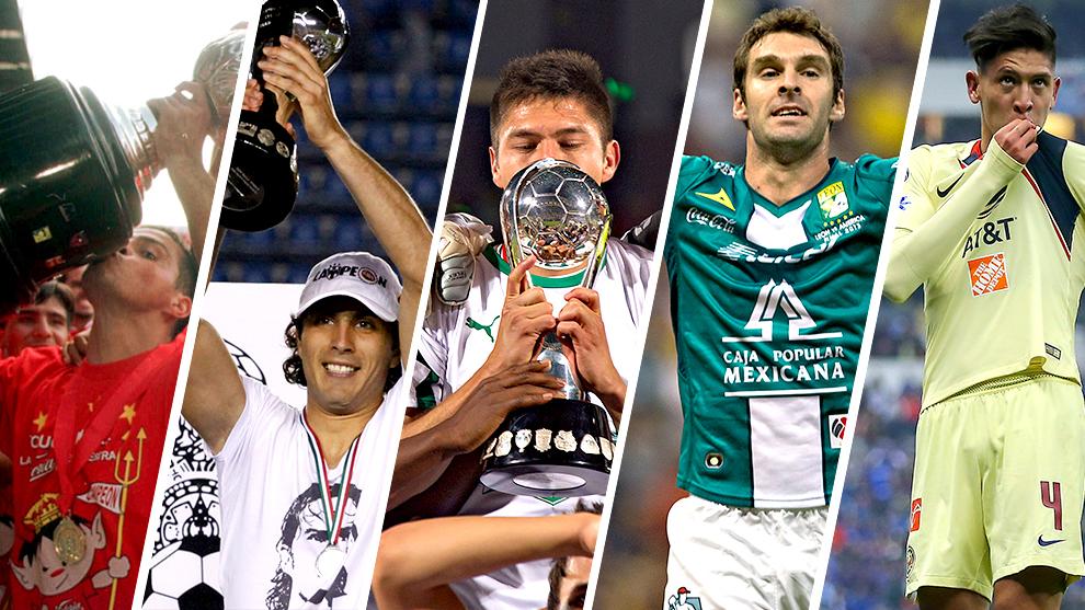 Toluca, Rayados, Santos, León y América ganaron el título en una...