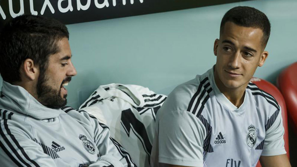 Isco and Lucas Vazquez may leave.