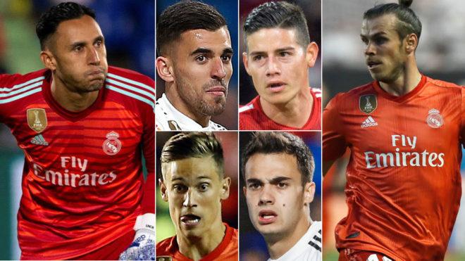 El Madrid busca destino a 14 jugadores
