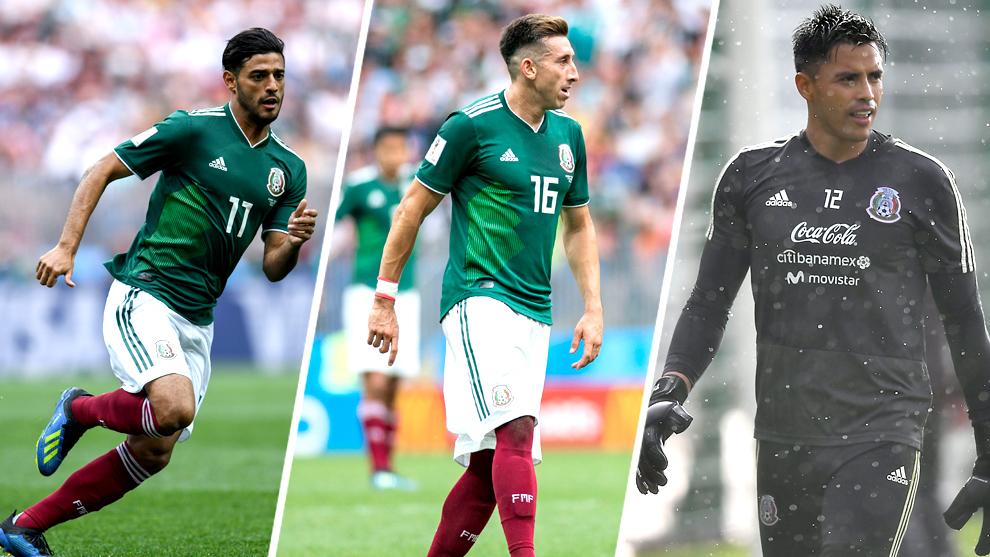 Carlos Vela, Héctor Herrera y Alfredo Talavera encabezan la lista de...