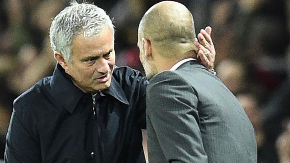 Jose Mourinho and Pep Guardiola.