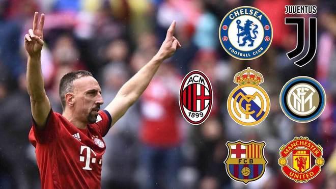 Football Ribery Juventus Inter Milan Chelsea Real Madrid