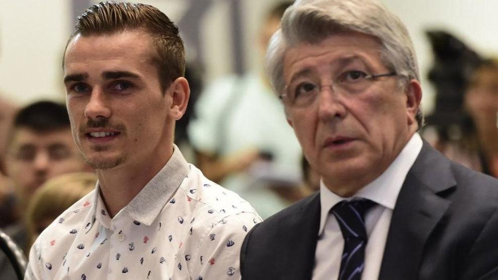 """Cerezo: """"Más que enojado estoy decepcionado, Griezmann tenía un gran futuro en el Atlético"""""""