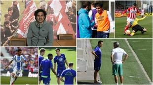 Algunos de los mexicanos que juega en Europa en esta temporada...