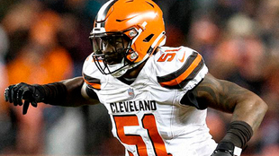 Jamie Collins con los Browns.