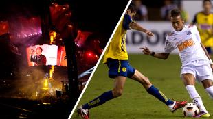 Concierto de U2 en 2011 movió el América vs Santos de Neymar a...