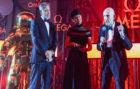 George Clooney, Belkys Nerey y Thomas Stafford