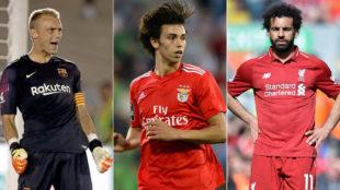 Fichajes, en directo: Salah y el Madrid, Joao Félix y la Premier, dos enemigos a por Cillessen...