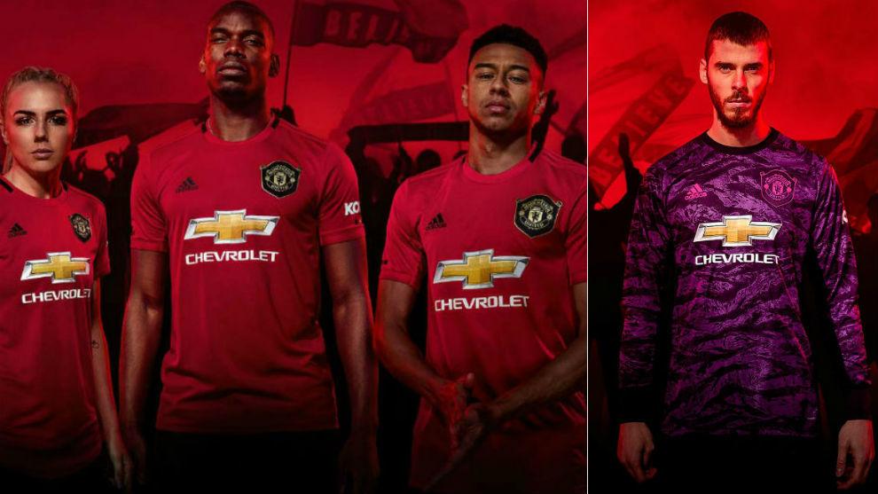 18edc7627e3c Premier League: El Manchester United presenta su nueva equipación ...
