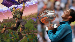 Fortnite vs. Roland Garros