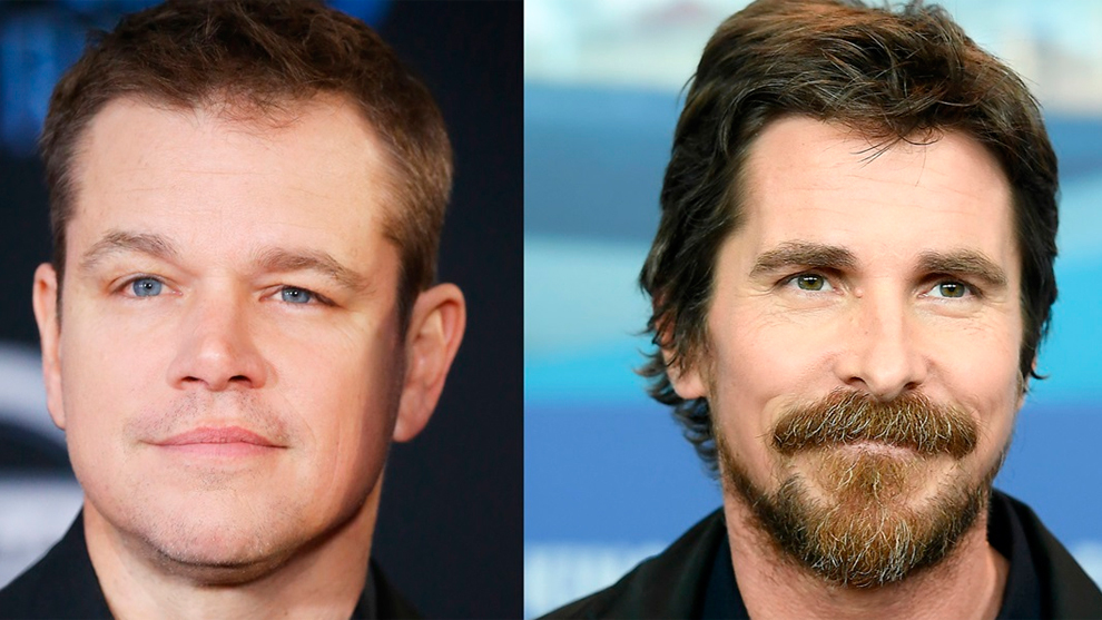 Matt Damon Christian Bale Indy 500 2019