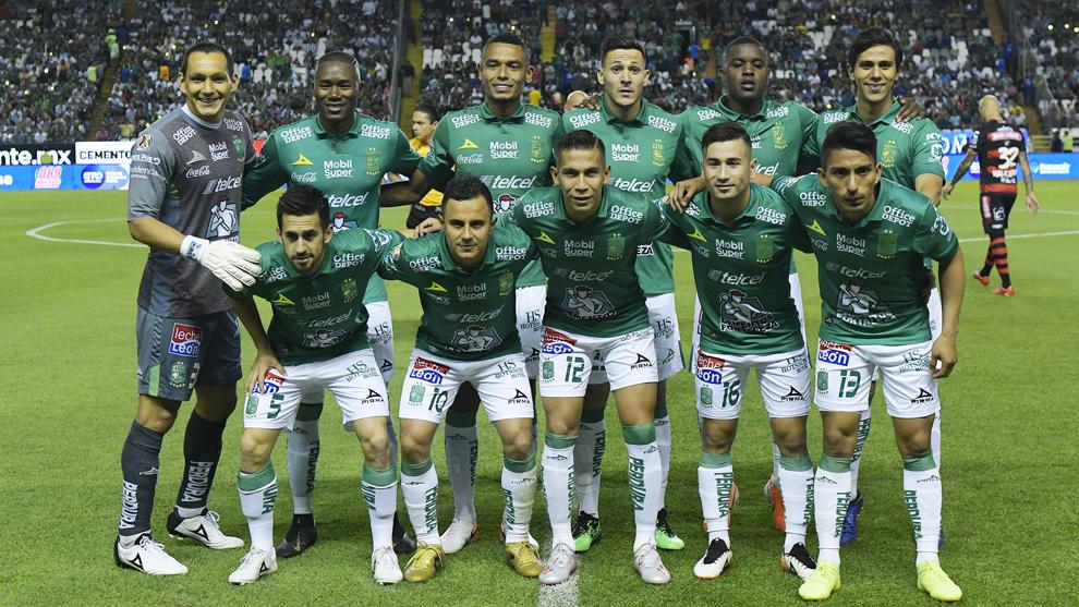 Foto oficial del León durante el partido de vuelta de cuartos de...