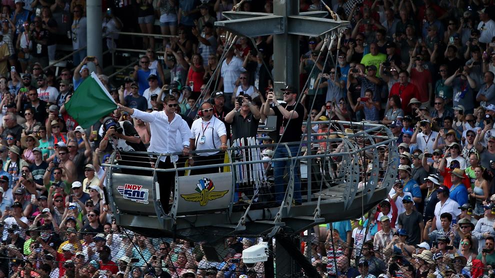 Chris Hemsworth Indy 500 2019