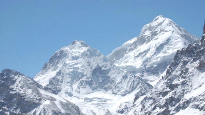 El Kanchenjunga desde una de sus caras.