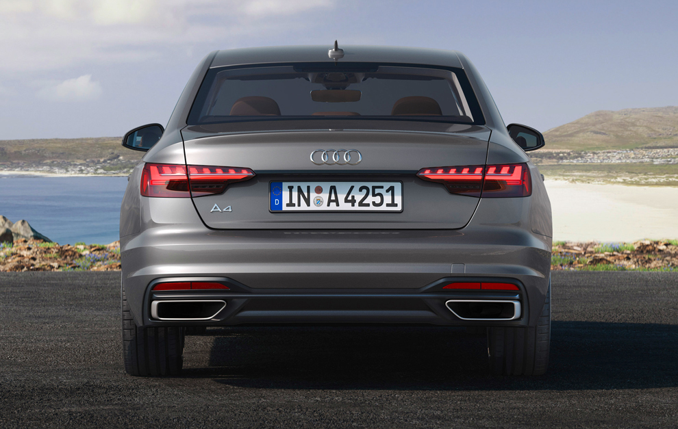 Nuevo Audi A4 con hibridación suave