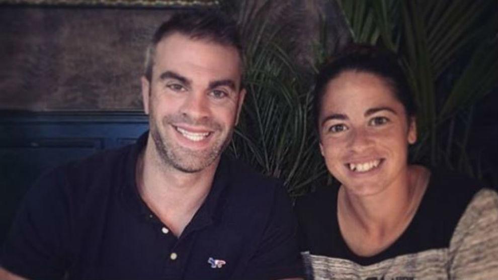 Marc y Marta Torrejón, dos futbolistas de cuna.