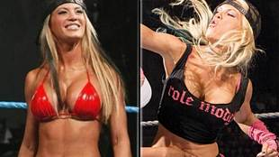 Ashley Massaro, leyenda de la WWE (ganadora del '2005 Raw Diva...