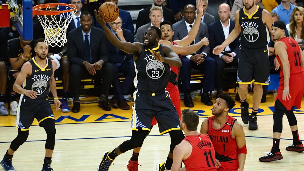 Los Warriors ampliaron su ventaja en la serie final ante los Trail...